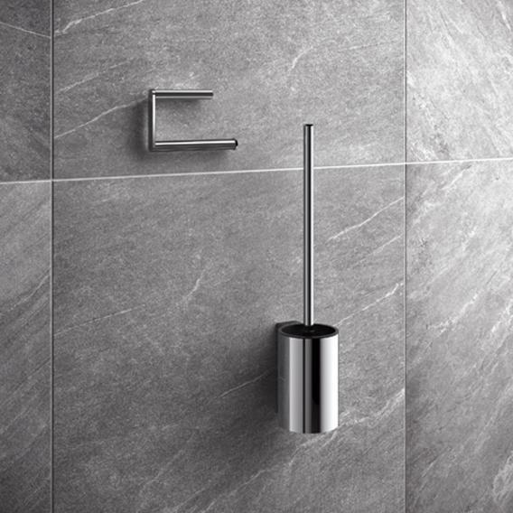 Hewi System 900 WC-Bürstengarnitur edelstahl gebürstet/schwarz