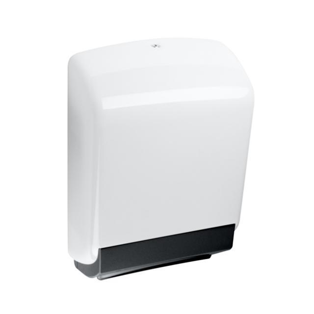 Hewi Serie 477 Papierhandtuchspender weiß/tiefschwarz