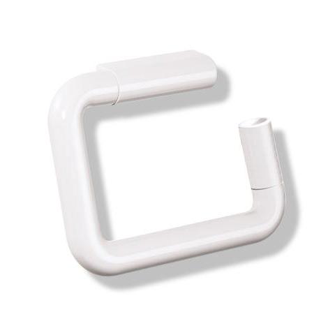 Hewi Serie 477 WC-Papierrollenhalter mit Diebstahlschutz reinweiß