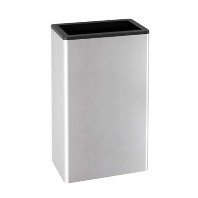 Hewi Serie 805 Papierabfallbehälter edelstahl gebürstet/tiefschwarz