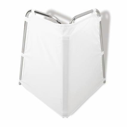 Hewi Serie 805 Vorhang Standspritzschutz