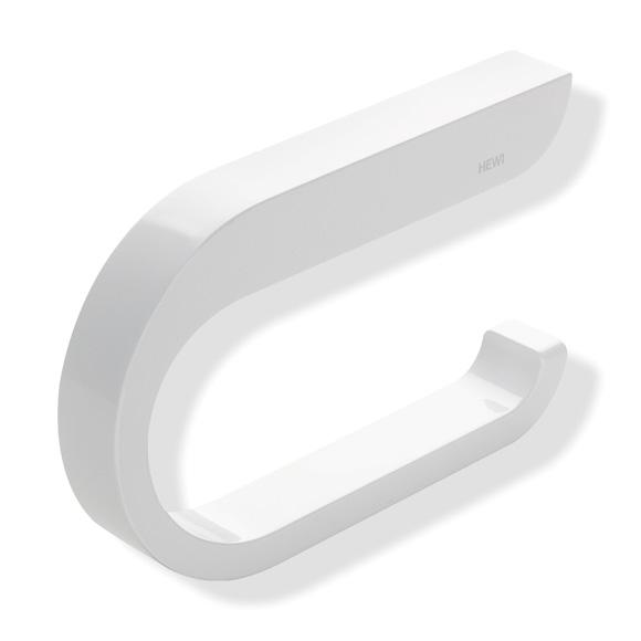 Hewi System 800 K WC-Papierrollenhalter signalweiß