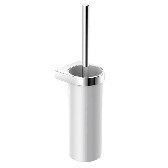Hewi System 800 WC-Bürstengarnitur satiniert/chrom