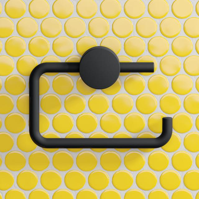 Hewi System 815 WC-Papierrollenhalter schwarz matt