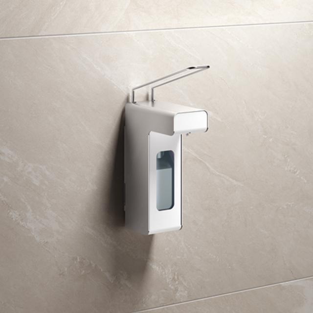 Hewi System 900 Desinfektionsmittel- oder Seifenspender edelstahl gebürstet, Inhalt 500 ml