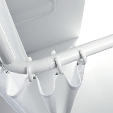 hewi serie 801 vorhangstange f r duschwanne reinwei 99 reuter. Black Bedroom Furniture Sets. Home Design Ideas