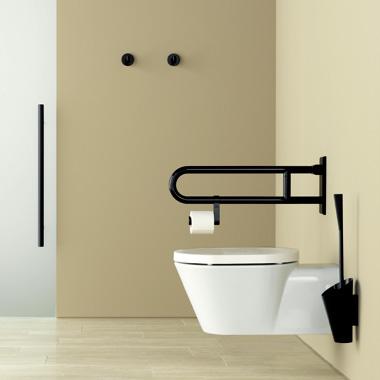 hewi serie 801 wc b rstengarnitur tiefschwarz 90 reuter. Black Bedroom Furniture Sets. Home Design Ideas