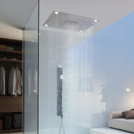 AXOR Starck ShowerCollection ShowerHeaven 970 x 970 mm 3jet Kopfbrause mit LED-Beleuchtung