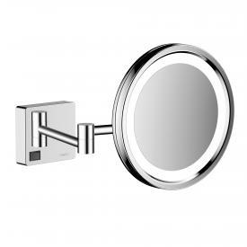 Hansgrohe AddStoris LED-Kosmetikspiegel chrom