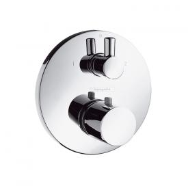 Hansgrohe Ecostat S Thermostatbatterie mit Ab-/Umstellventil chrom