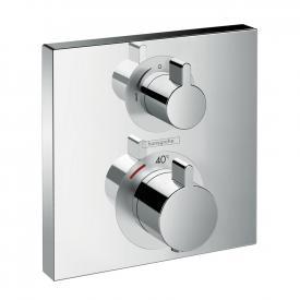Hansgrohe Ecostat Square Thermostat Unterputz, für 2 Verbraucher chrom
