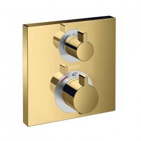 Hansgrohe Ecostat Square Thermostat Unterputz, für 2 Verbraucher gold