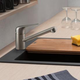 Hansgrohe Focus M42 Einhebel-Küchenmischer 100 edelstahl