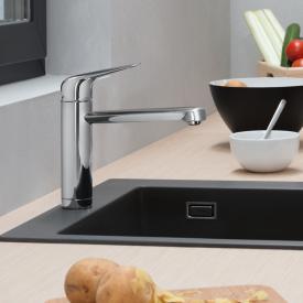 Hansgrohe Focus M42 Einhebel-Küchenmischer 120, für Vorfenstermontage