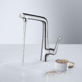 Hansgrohe Metris Select M71 Einhebel-Küchenmischer 320 chrom