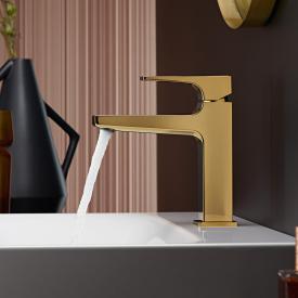 Hansgrohe Metropol Einhebel-Waschtischmischer 110, mit Zungengriff, mit Ablaufgarnitur gold