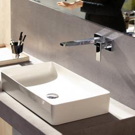 Hansgrohe Metropol Einhebel-Waschtischmischer für Wandmontage, mit Zungengriff Ausladung: 225 mm