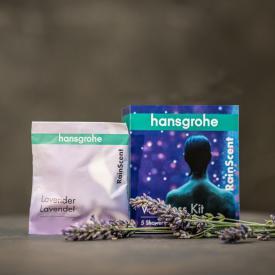 Hansgrohe RainScent Wellness Kit Duschtabs, 5 Stück Lavendel
