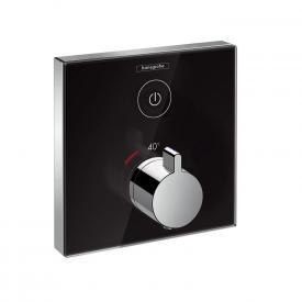 Hansgrohe ShowerSelect Glas Thermostat Unterputz für 1 Verbraucher