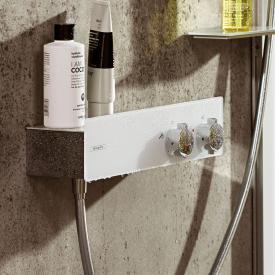 Hansgrohe ShowerTablet 350 Brausethermostat, Aufputz weiß/chrom