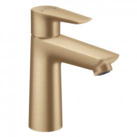 Hansgrohe Talis E Einhebel-Waschtischmischer 110 bronze gebürstet, ohne Ablaufgarnitur