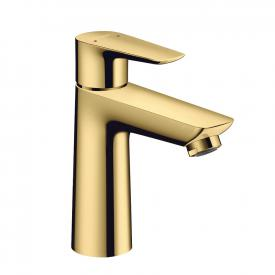 Hansgrohe Talis E Einhebel-Waschtischmischer 110 gold, mit Ablaufgarnitur
