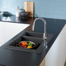 Hansgrohe Talis S Einhebel-Küchenmischer 200 mit Ausziehbrause und sBox chrom
