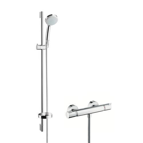 Sehr Gut Hansgrohe Croma 100 Vario / Ecostat Comfort Combi 900 mm, DN15  YU17