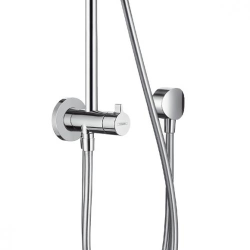 hansgrohe croma 220 air 1jet showerpipe reno 27224000 reuter. Black Bedroom Furniture Sets. Home Design Ideas