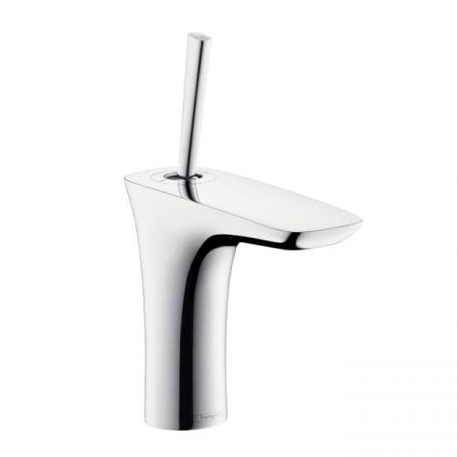 hansgrohe puravida einhebel waschtischmischer 110 mit push. Black Bedroom Furniture Sets. Home Design Ideas