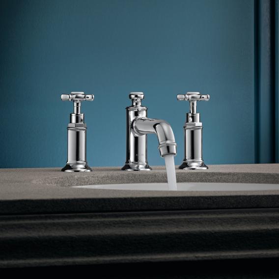 AXOR Montreux 3-Loch-Waschtischarmatur 30 mit Ablaufgarnitur