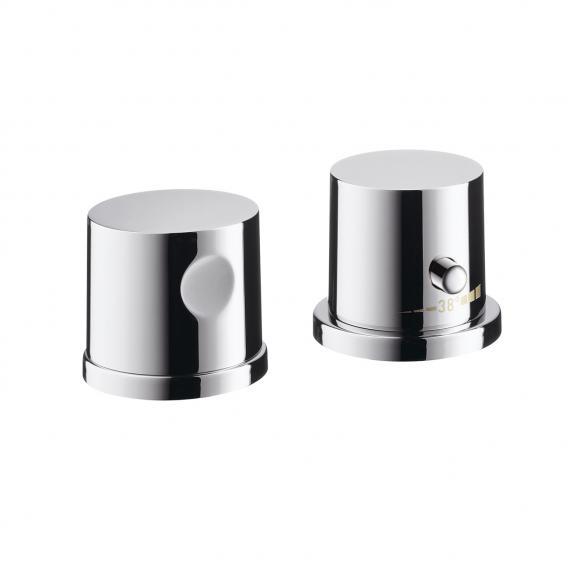 AXOR Uno 2-Loch Wannenrandarmatur mit Thermostat chrom