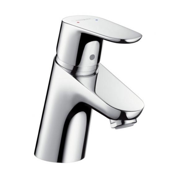Hansgrohe Focus Einhebel-Waschtischmischer 70, für offene Heißwasserbereiter mit Ablaufgarnitur