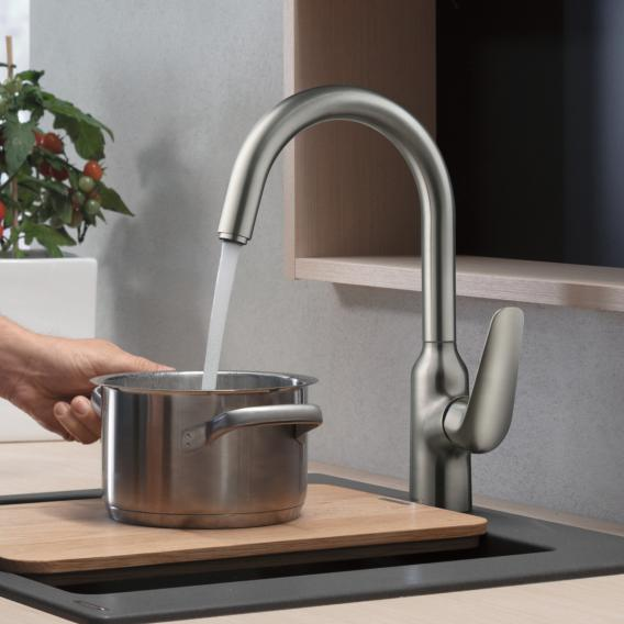 Hansgrohe Focus M42 Einhebel-Küchenmischer 220 chrom