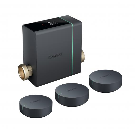 Hansgrohe Pontos Base Wassermanagementsystem mit 3 Pontos Scout Wassersensoren