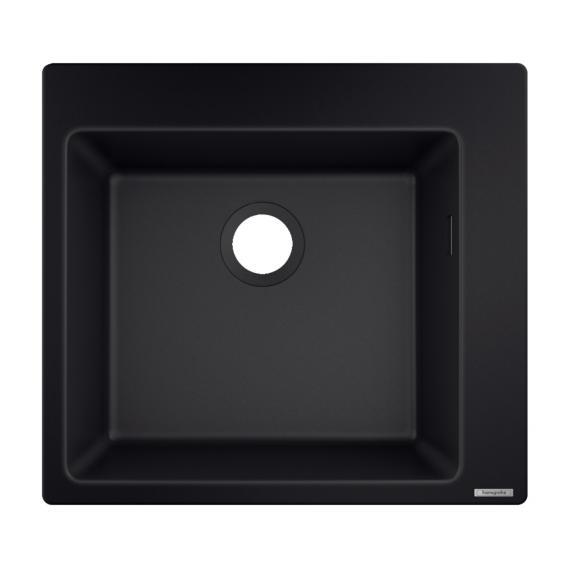 Hansgrohe S51 Einbauspüle 450 graphit schwarz