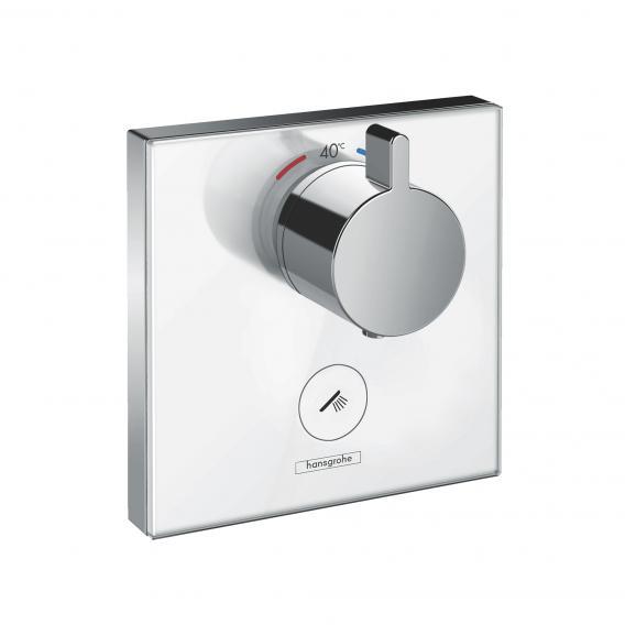 Hansgrohe ShowerSelect Glas Thermostat Highflow Unterputz, 1 Verbraucher, 1 zus. Abgang