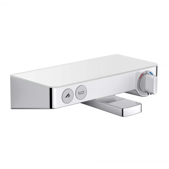 Hansgrohe ShowerTablet Select 300 Wannenthermostat Aufputz, DN 15 weiß/chrom