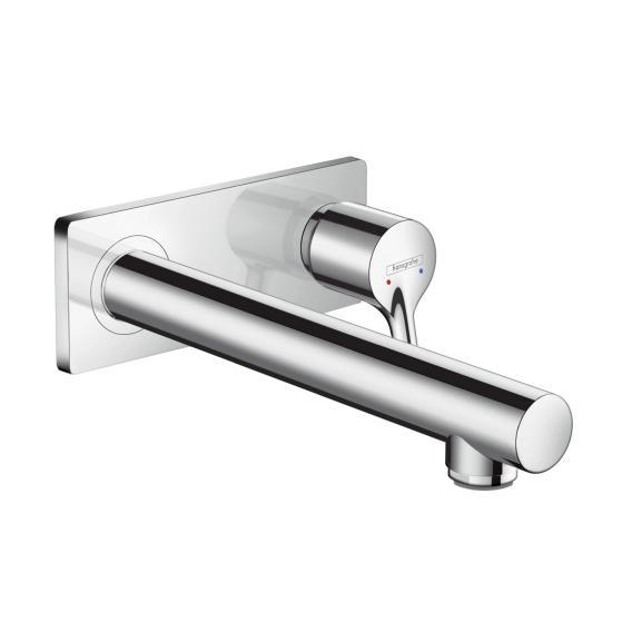 Hansgrohe Talis S Einhebel-Waschtischmischer für Wandmontage Ausladung: 225 mm