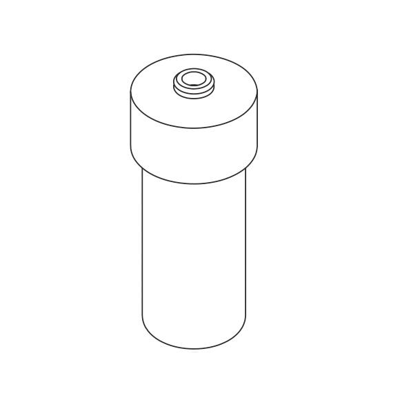 AXOR Citterio Ersatzteil Glaseinsatz für Lotionspender