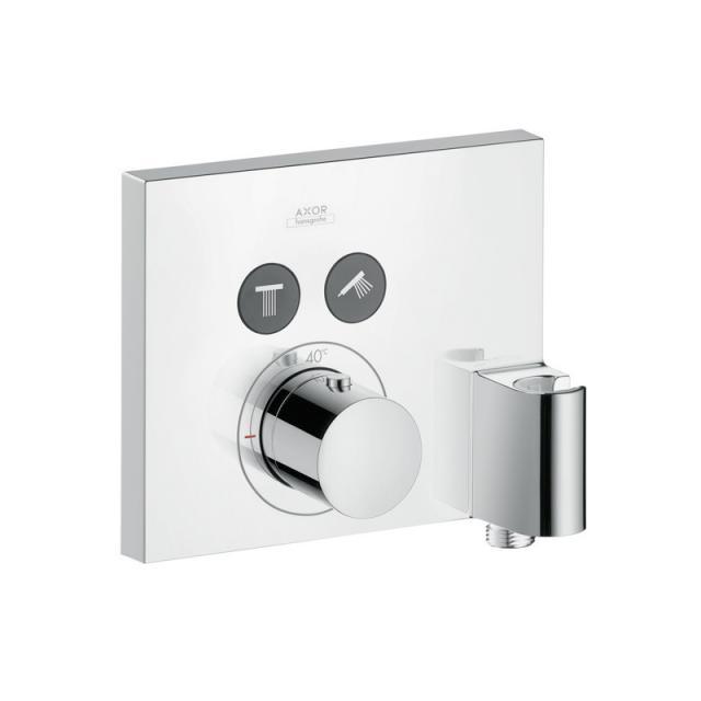 AXOR ShowerSolutions SquareThermostat Unterputz für 2 Verbraucher mit FixFix und Porter chrom