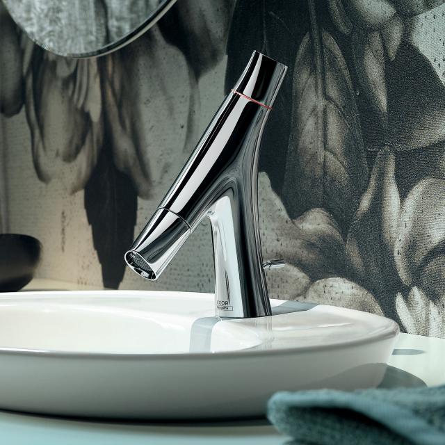 AXOR Starck Organic Zweigriff-Waschtischmischer 50, für Handwaschbecken chrom