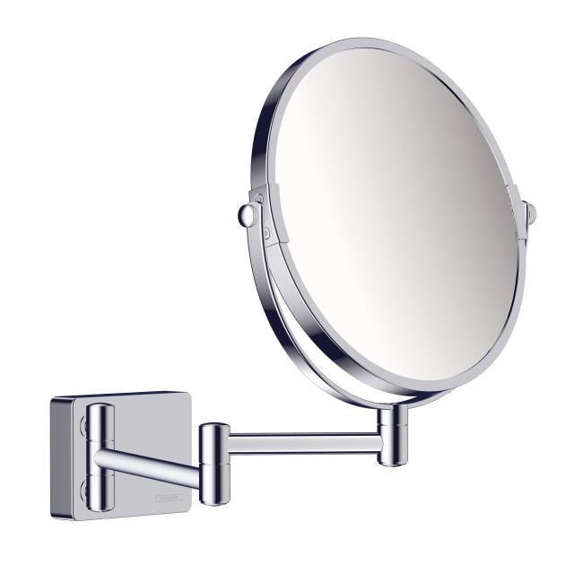 Hansgrohe AddStoris Kosmetikspiegel chrom
