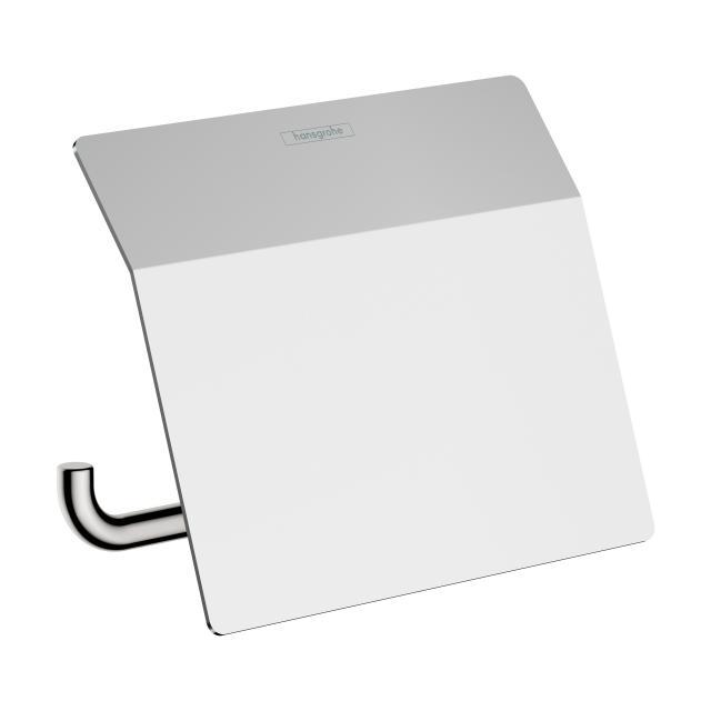 Hansgrohe AddStoris Toilettenpapierhalter mit Deckel chrom