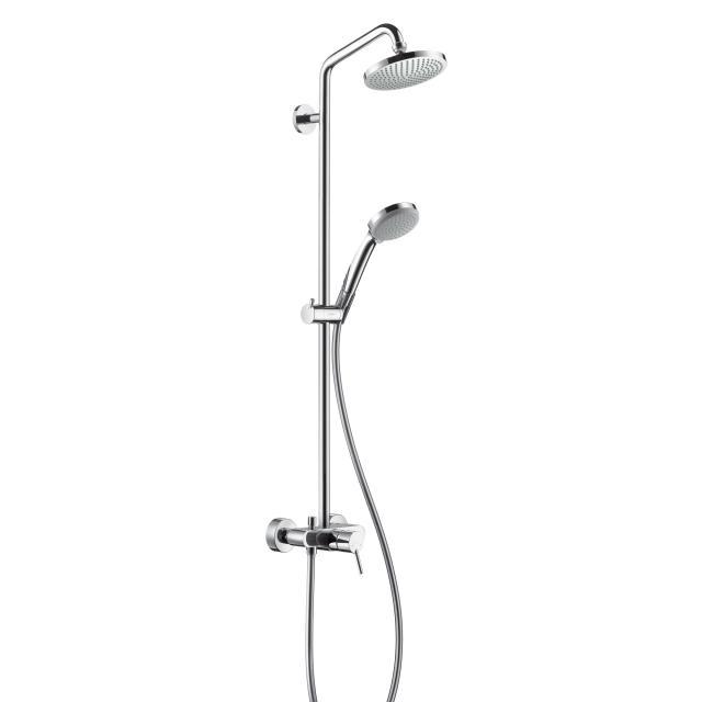 Hansgrohe Croma 160 1jet Showerpipe, mit Einhebelmischer