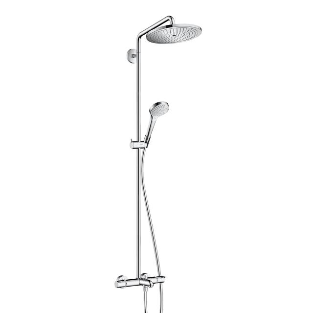 Hansgrohe Croma Select 280 Air 1jet Showerpipe Wanne chrom