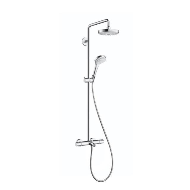 Hansgrohe Croma Select S 180 2jet Showerpipe Wanne