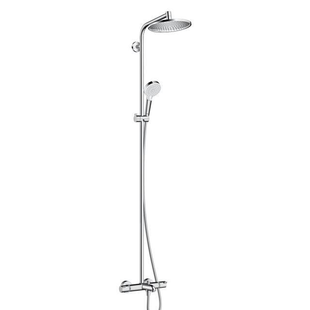 Hansgrohe Crometta S 240 1jet Showerpipe für Wanne chrom