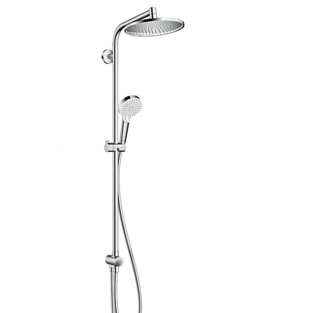 Hansgrohe Crometta S 240 1jet Showerpipe Reno, EcoSmart chrom