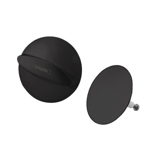 Hansgrohe Flexaplus Fertigset schwarz matt